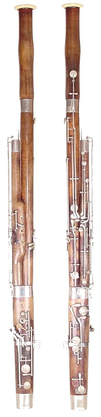 Former Bassoon Collection H De wit
